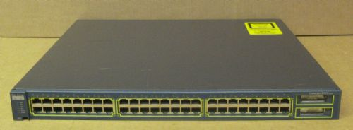 Cisco C2950G 48x10/100 Ethernet 2xGBIC L2 Managed Rack Switch WS-C2950G-48-EI